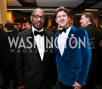 Yelburton Watkins, Lyndon Boozer. Photo by Tony Powell. 2014 Fight Night. Hilton Hotel. November 13, 2014