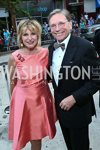 Tina Alster and Paul Frazer. Photo by Tony Powell. 2014 Ford's Theatre Gala. June 22, 2014