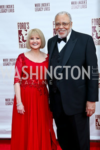 Cecilia Hart and James Earl Jones. Photo by Tony Powell. 2014 Ford's Theatre Gala. June 22, 2014