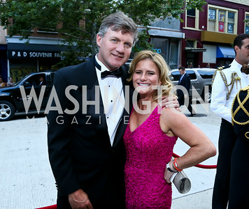 Patrick McGee, Melissa Maxfield. Photo by Tony Powell. 2014 Ford's Theatre Gala. June 22, 2014