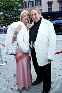 Lola Reinsch, Al Pierce. Photo by Tony Powell. 2014 Ford's Theatre Gala. June 22, 2014