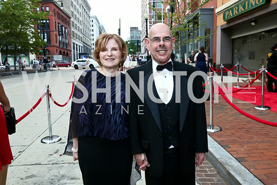 Janet Kessler and Rep. Henry Waxman. Photo by Tony Powell. 2014 Ford's Theatre Gala. June 22, 2014