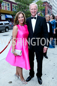 Michele Seiver and Jack Evans. Photo by Tony Powell. 2014 Ford's Theatre Gala. June 22, 2014