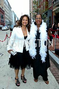 Debbie Allen, Eleanor Traylors. Photo by Tony Powell. 2014 Ford's Theatre Gala. June 22, 2014