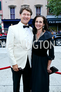 Lyndon Boozer and Karen Anderson. Photo by Tony Powell. 2014 Ford's Theatre Gala. June 22, 2014