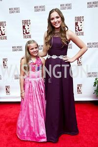 Maisy and Lennon Stella. Photo by Tony Powell. 2014 Ford's Theatre Gala. June 22, 2014