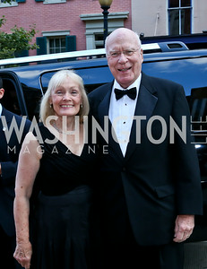 Marcelle Leahy and Sen. Patrick Leahy. Photo by Tony Powell. 2014 Ford's Theatre Gala. June 22, 2014