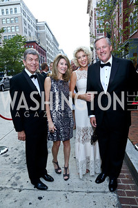 Sen. Roy Blunt and Abigail Blunt, Debbie Meadows and Rep. Mark Meadows. Photo by Tony Powell. 2014 Ford's Theatre Gala. June 22, 2014