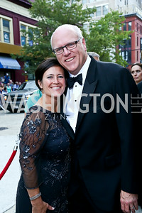 Kasey Nilson and Rep. Joe Crowley. Photo by Tony Powell. 2014 Ford's Theatre Gala. June 22, 2014