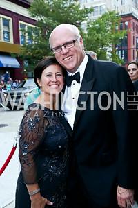 Kasey Nilson and Rep. Joe Crowley. Photo by Tony Powell. 2014 Ford's Theatre Gala. June 22, 2014