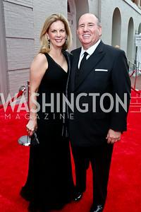 Lea and Wayne Berman. Photo by Tony Powell. 2014 Ford's Theatre Gala. June 22, 2014