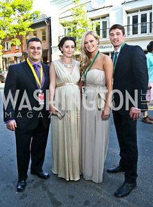 Nick and Suzanne Palmisciano, Autumn and Josh McLean. Photo by Tony Powell. GI Film Festival. Old Town Theater. May 24, 2014