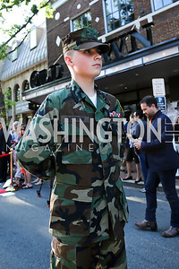 PFC Mason Warner. Photo by Tony Powell. GI Film Festival. Old Town Theater. May 24, 2014
