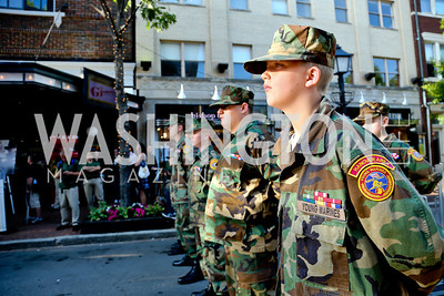 Hanover Area Young Marines. Photo by Tony Powell. GI Film Festival. Old Town Theater. May 24, 2014