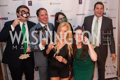 Guests Having fun at Photo Booth
