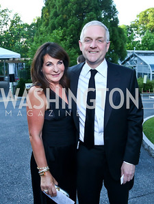 Anna and Robert Trone. Photo © Tony Powell. 2014 Hillwood Gala. June 3, 2014
