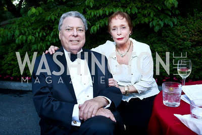 Thomas and Barbara Boggs. Photo by Tony Powell. 2014 Hillwood Gala. June 3, 2014