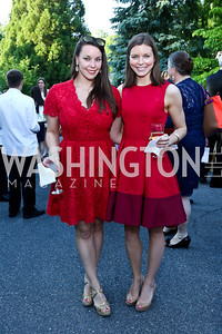 Nedenia Craig, Welyn Craig. Photo by Tony Powell. 2014 Hillwood Gala. June 3, 2014