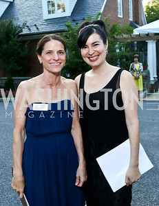 Lynn Rossotti, Adrienne Starr. Photo by Tony Powell. 2014 Hillwood Gala. June 3, 2014