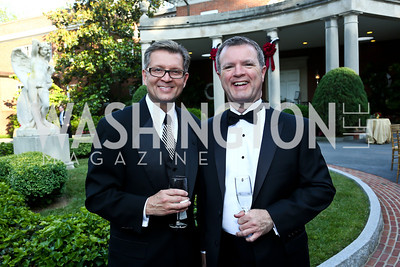 Jamie Coley, Brad Kiley. Photo by Tony Powell. 2014 Hillwood Gala. June 3, 2014