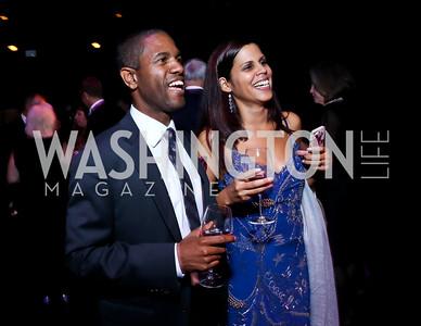 Psalmayene 24, Diana Morrison. Photo by Tony Powell. 2014 Imagination Stage Gala. October 18, 2014