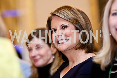 Gloria Borger. Photo by Tony Powell. 2014 International Women's Day Lunch. Mayflower Hotel. March 5, 2014