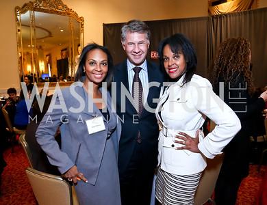 Jacqui Watson, NEED, Kim Watson. Photo by Tony Powell. 2014 International Women's Day Lunch. Mayflower Hotel. March 5, 2014
