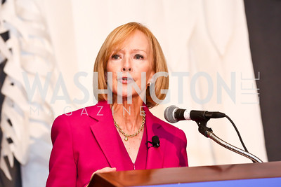 Judy Woodruff. Photo by Tony Powell. 2014 International Women's Day Lunch. Mayflower Hotel. March 5, 2014
