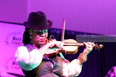 2014 Jazz Legacy Foundation Gala - Karen Briggs and Patrice Rushen