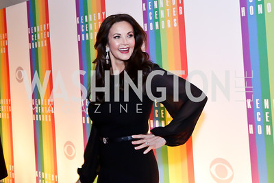 Lynda Carter. Photo by Tony Powell. 2014 Kennedy Center Honors Red Carpet. December 7, 2014