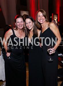 Leeann Petersen, Meredith Miller, Jane Caldeira. Photo by Tony Powell. 2014 LUNGevity Gala. Mellon Auditorium. October 24, 2014
