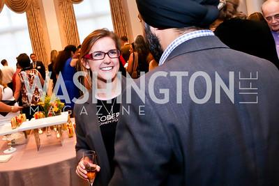 Alli McCracken. Photo by Tony Powell. Letelier-Moffitt Human Rights Awards. Carnegie Institute. October 14, 2014