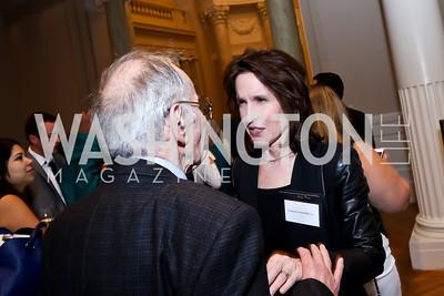 Katrina Vanden Heuvel. Photo by Tony Powell. Letelier-Moffitt Human Rights Awards. Carnegie Institute. October 14, 2014