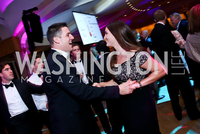 Ryan Deehan, Jenny Doolin. Photo by Tony Powell. 28th Annual Lombardi Gala. Washington Hilton. October 18, 2014