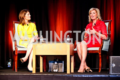 Norah O'Donnell, Ann Romney. Photo by Tony Powell. 2014 Women on the Move Luncheon. Marriott Wardman Park. April 30, 2014
