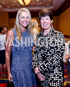 Sue Falk, Rosemary Laphen. Photo by Tony Powell. 2014 Women on the Move Luncheon. Marriott Wardman Park. April 30, 2014
