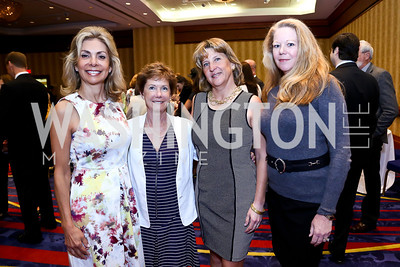 Didi Parker, Kathy DeMuro, Jody Lagioia, Karen Flagg. Photo by Tony Powell. 2014 Women on the Move Luncheon. Marriott Wardman Park. April 30, 2014