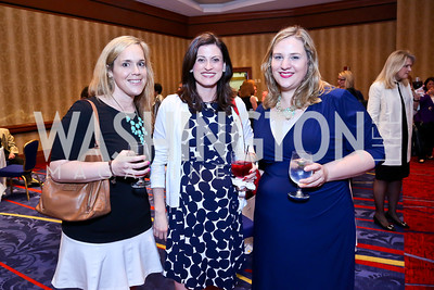 Sarah D'Elia, Sarah Rogers, Ali Bonebrake. Photo by Tony Powell. 2014 Women on the Move Luncheon. Marriott Wardman Park. April 30, 2014