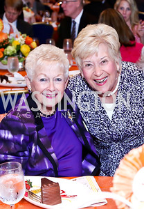 Donna Marriott, Sue Huguely. Photo by Tony Powell. 2014 Women on the Move Luncheon. Marriott Wardman Park. April 30, 2014