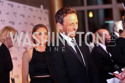 Seth Meyers. Photo by Tony Powell. 2014 Mark Twain Prize. Kennedy Center. October 19, 2014