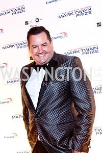 Ross Mathews. Photo by Tony Powell. 2014 Mark Twain Prize. Kennedy Center. October 19, 2014