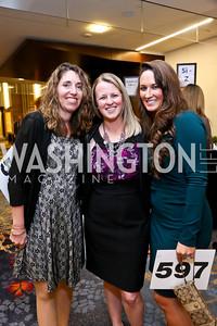 Lisa Kaltreider, Caitlin Sieg, Ashley Woodford. Photo by Tony Powell. 2014 Medstar NRH Gala. Marriott Marquis. October 30, 2014