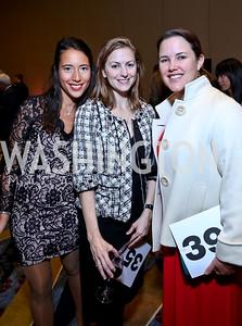 Cecile Berg, Gabrielle Kornely, Elaine Maslamani. Photo by Tony Powell. 2014 Medstar NRH Gala. Marriott Marquis. October 30, 2014