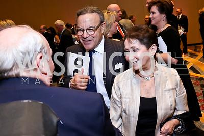Leonard and Linda Greenberg. Photo by Tony Powell. 2014 Medstar NRH Gala. Marriott Marquis. October 30, 2014