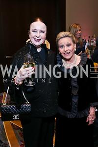 Monica Greenberg, Vibeke Lofft. Photo by Tony Powell. 2014 Medstar NRH Gala. Marriott Marquis. October 30, 2014