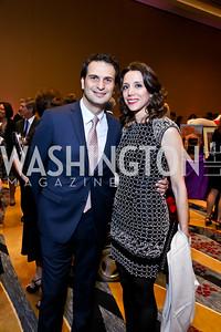 Mert and Alev Bakan. Photo by Tony Powell. 2014 Medstar NRH Gala. Marriott Marquis. October 30, 2014