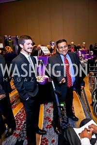 Chris Grim, Marcelino Ruiz. Photo by Tony Powell. 2014 Medstar NRH Gala. Marriott Marquis. October 30, 2014