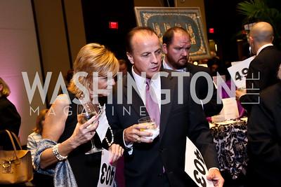 Nancy and Brian McCann. Photo by Tony Powell. 2014 Medstar NRH Gala. Marriott Marquis. October 30, 2014