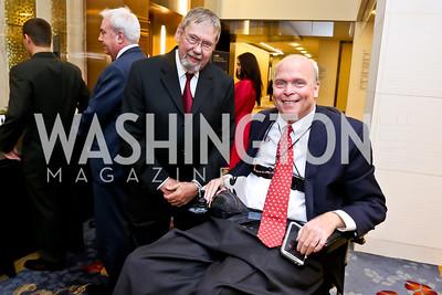 Wayne Coy, Robert Marsteller. Photo by Tony Powell. 2014 Medstar NRH Gala. Marriott Marquis. October 30, 2014