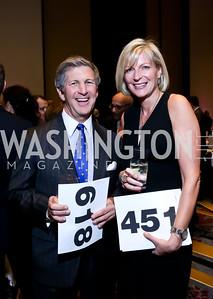 Danny Korengold, Kacey Pappas. Photo by Tony Powell. 2014 Medstar NRH Gala. Marriott Marquis. October 30, 2014